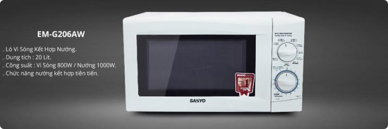Lò vi sóng Sanyo 20L EM-G206AW