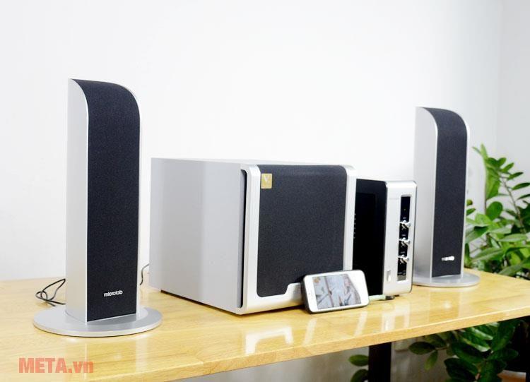 Loa Microlab FC361 thiết kế sang trọng và hiện đại