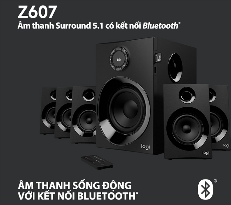 Loa Vi Tính Logitech Z607 5.1 Surround