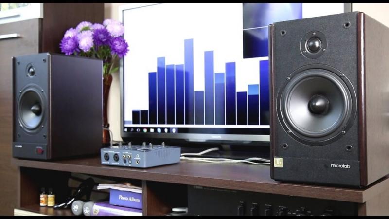 Loa Microlab Solo 6C có vỏ loa làm từ gỗ, hệ thống loa 2.0, công suất lên tới 100W, đáp ứng giải tần số từ 55 Hz đến 20000 kHz