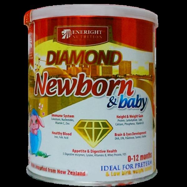 Sữa Diamond Newborn & Baby tăng đề kháng