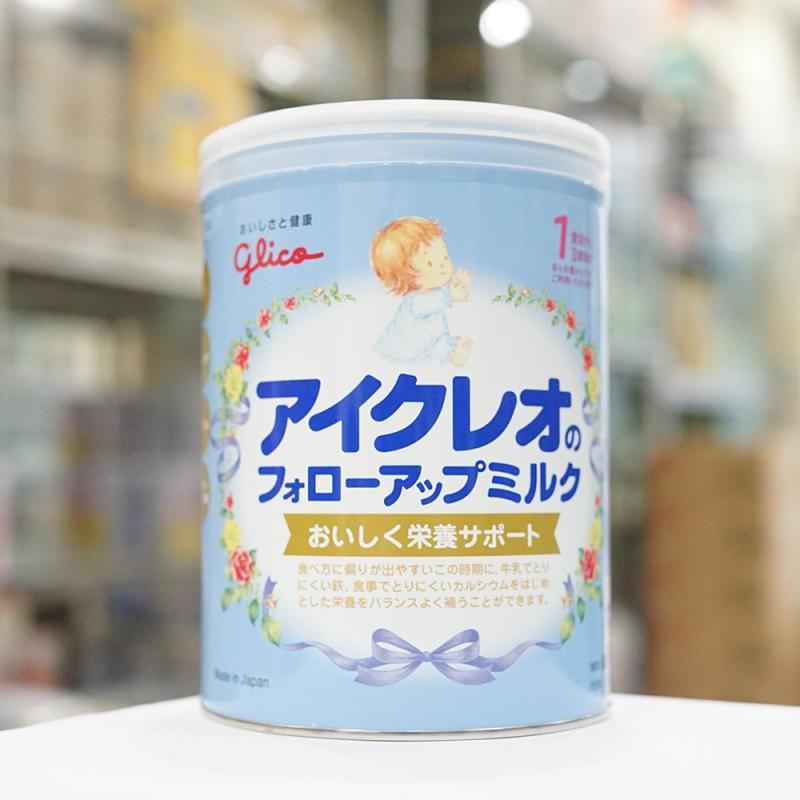 Sữa Glico của Nhật tăng đề kháng