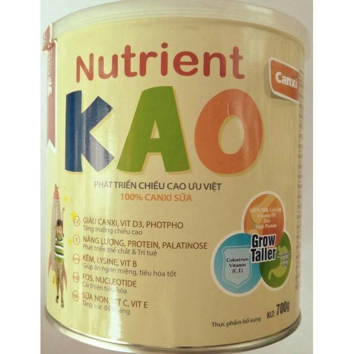 Sữa Nutrient Kao tăng đề kháng