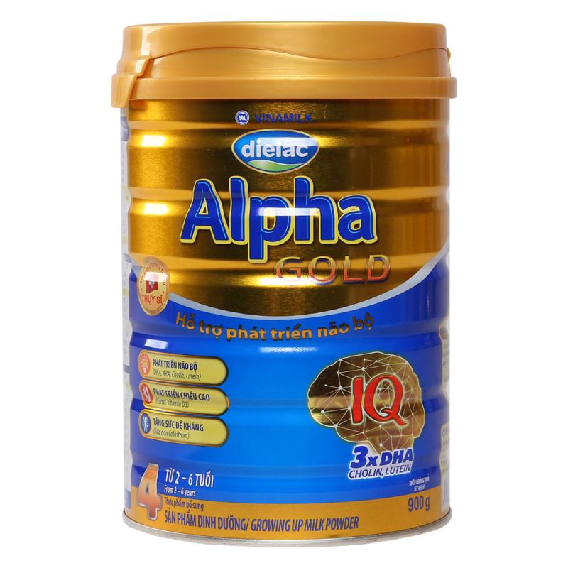 Sữa Dielac Alpha Gold 4 tăng đề kháng
