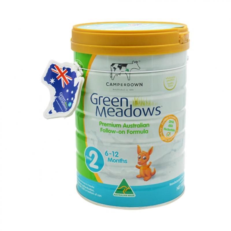 Sữa Green Meadows tăng đề kháng