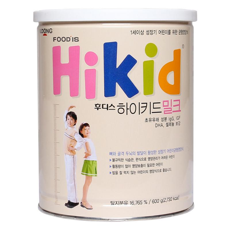 Sữa Hikid tăng đề kháng