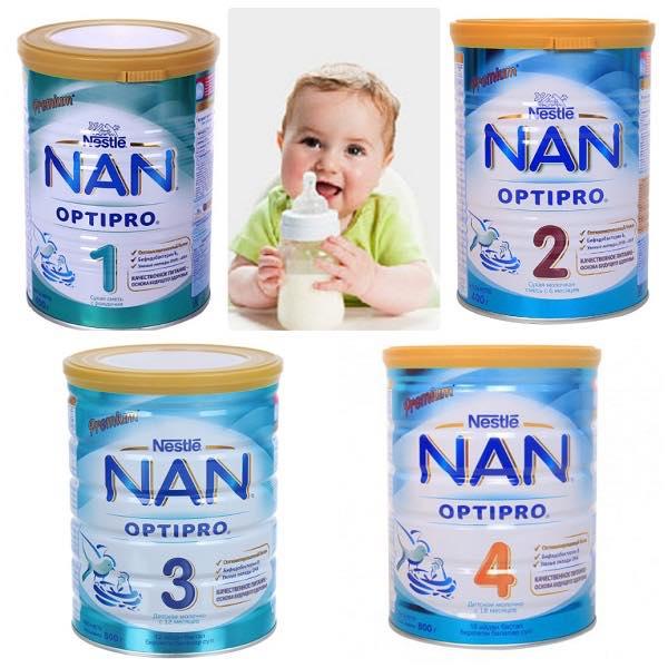 Sữa NAN Nga tăng đề kháng