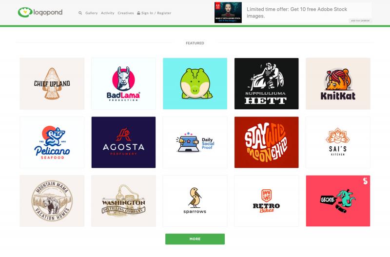 Logopond cung cấp cho bạn những mẫu logo hay và độc đáo