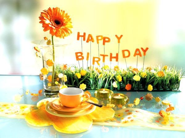 """It's a nice feeling when you know that someone likes you, someone thinks about you, someone needs you, but it feels much better when you know that someone never ever forgets your birthday. """"HAPPY BIRTHDAY""""."""