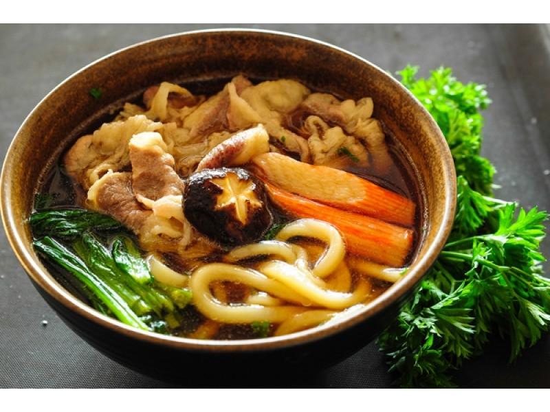 Mì Udon với tỉ lệ chất béo dường như không có - thách thức các loại mì.