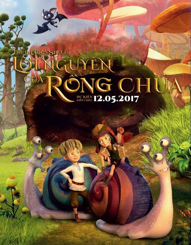 Poster phim - Lời nguyền của rồng chúa (The Dragon Spell)