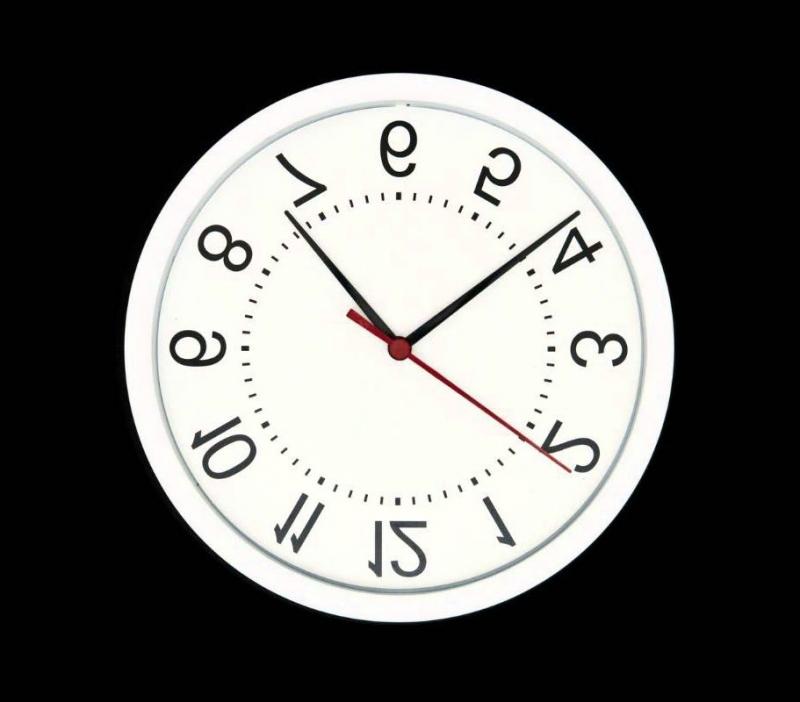 Treo ngược đồng hồ