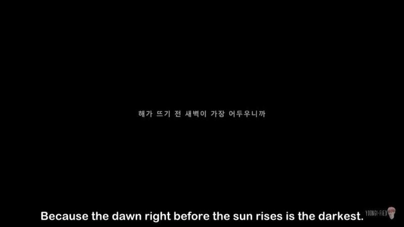 Những bài hát của BTS luôn chứa đựng những thông điệp sống tốt đẹp và Tomorrow cũng không ngoại lệ