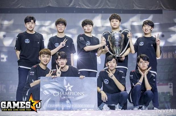 Nhà vô địch giải LCK mùa hè 2017 - Longzhu Gaming