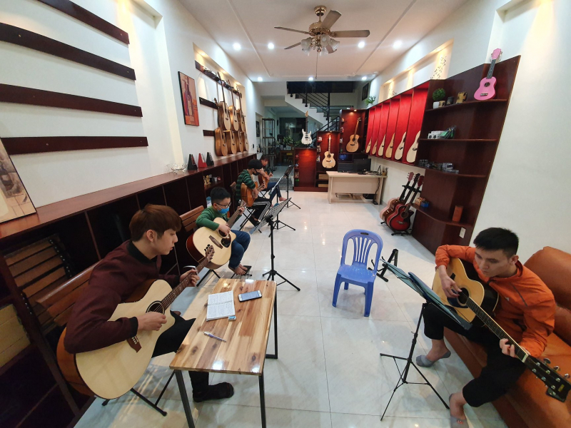 Lớp dạy Guitar Hải Phòng