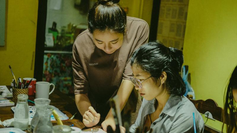 Lớp học Hồng Xiêm