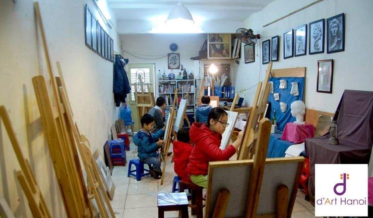 Lớp học vẽ d'Art