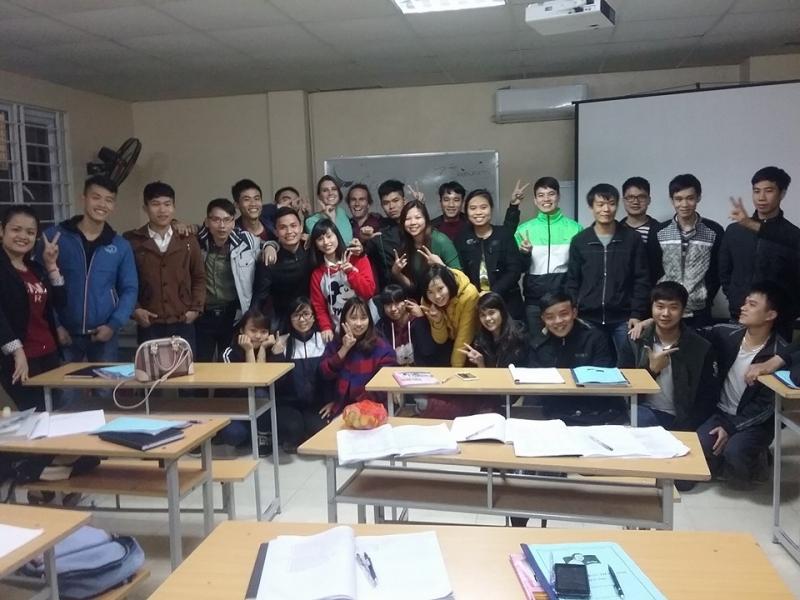 Lớp Tiếng Anh miễn phí thầy Tiệp