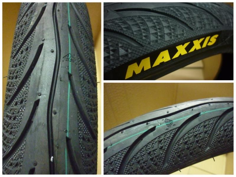 Lốp xe máy Maxxis.