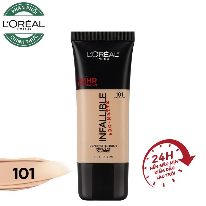 L'Oreal Infallible Pro - Matte 24HR Foundation