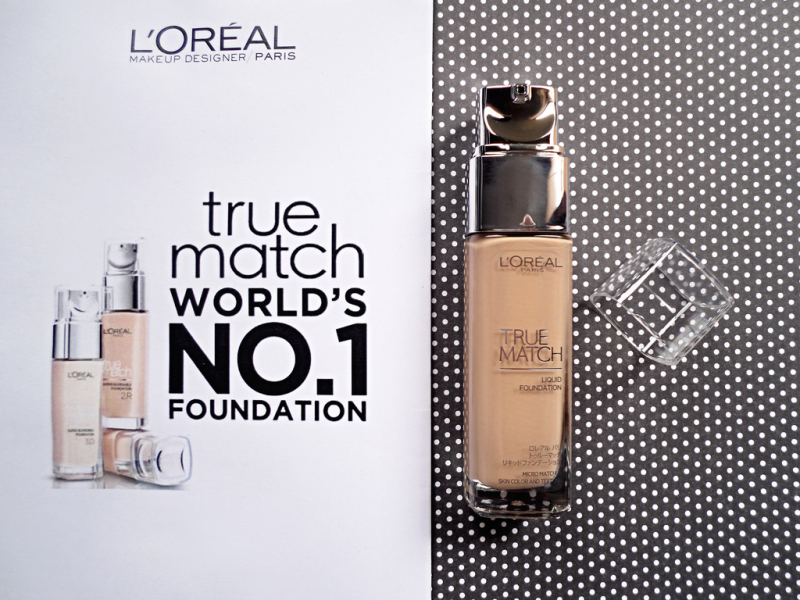 Kem nền L'Oreal Paris True Match Liquid Foundation