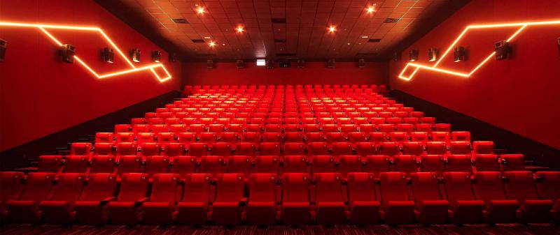 Rạp phim hoành tráng, thoáng, rộng
