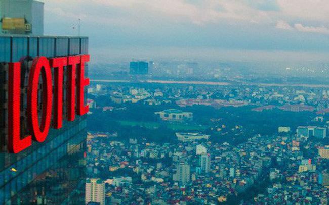 Lotte là ông lớn mới gia nhập ngành bất động sản Việt Nam