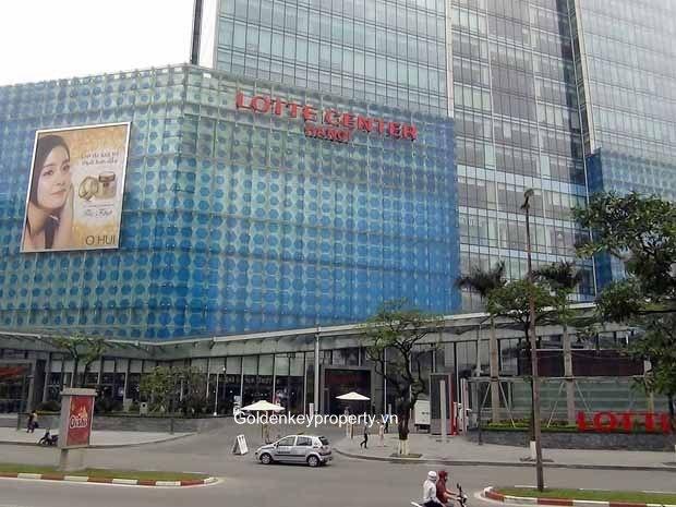 Lotte Shopping Center - Liễu Giai