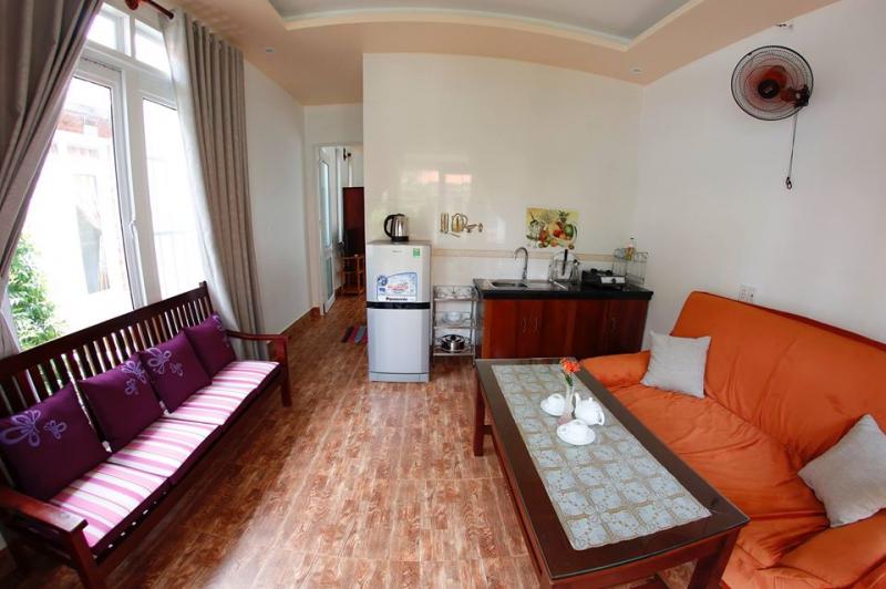 Không gian trong căn hộ Lotus Apartment