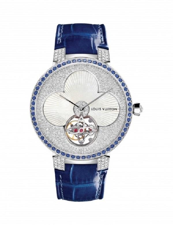 Mẫu đồng hồ Tambour Monogram Sun Tourbillon