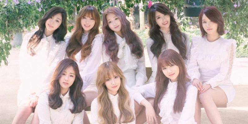 Nhóm nhạc thần tượng Hàn Quốc Lovelyz.