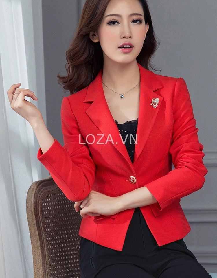 Vest nữ phong cách Hàn Quốc tại Loza Shop.