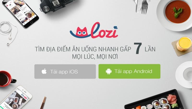 Lozi có đủ tất cả các loại món ăn, và một số món còn có dịch vụ giao hàng tận nơi, thích quá phải không nào?
