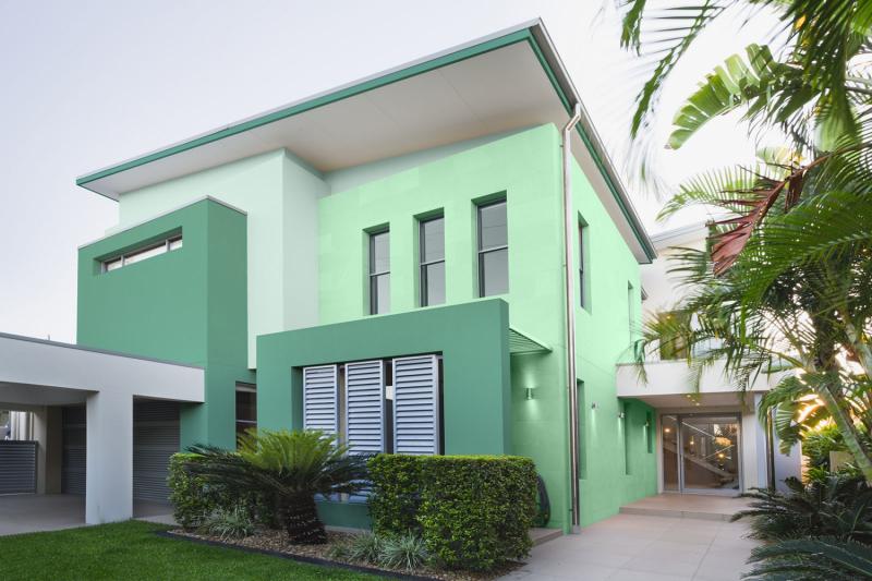 Một cách lựa chọn màu sơn khi sửa nhà theo phong thủy chuẩn là chọn màu hợp với mệnh gia chủ.
