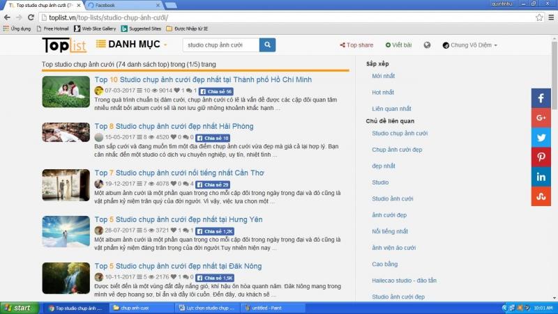 Tìm thêm thông tin để lựa chọn sudio phù hợp