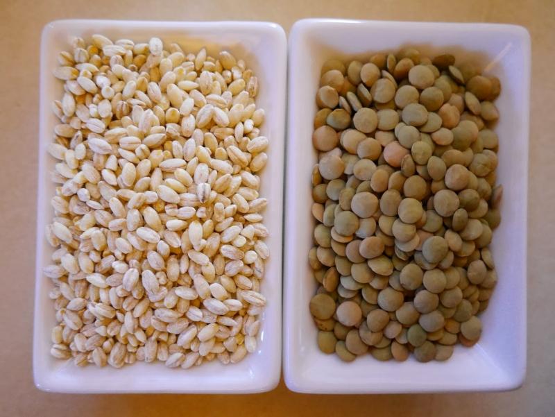 Lúa mạch và đậu lăng