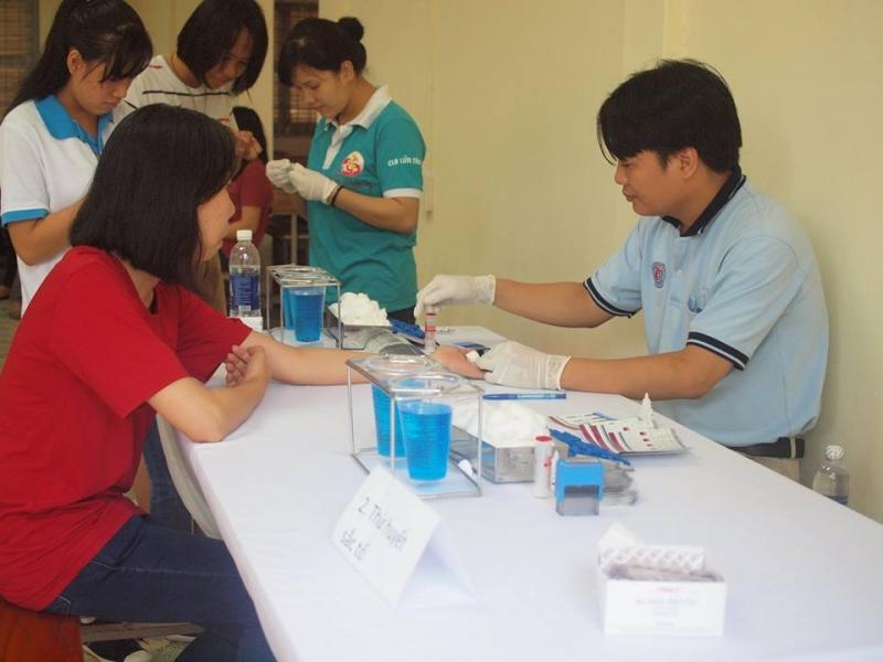 Hoạt động hiến máu của CLB