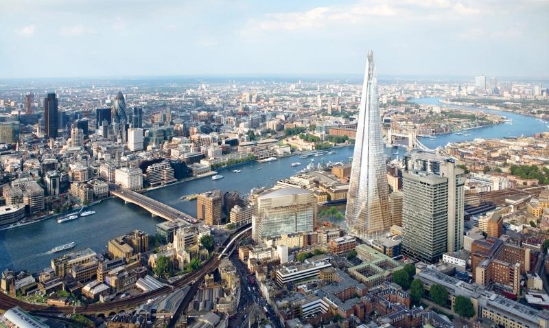 Sự phát triển của Luân Đôn chủ yếu là ngành công nghiệp tài chính