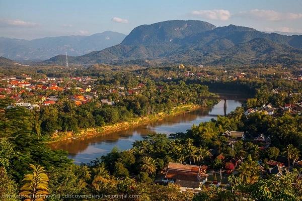 Vẻ đẹp bình yên của Luang Prabang