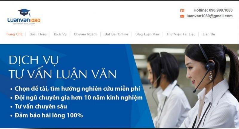 Đến với luanvan1080.com, bạn sẽ hoàn toàn yên tâm về chất lượng và dich vụ