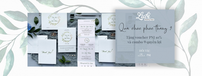 LuBi Wedding Paper - Save your Date
