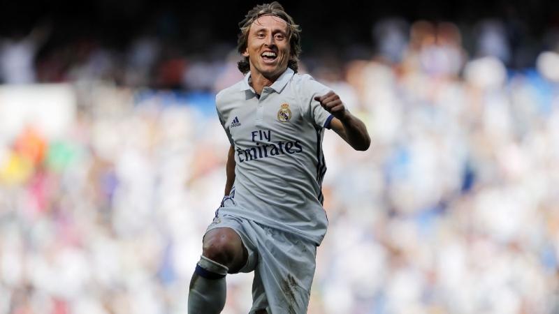 Modric chơi tuyệt hay trong màu áo Real Madrid