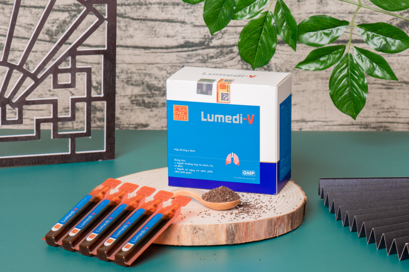 Sản phẩm Lumedi-V được khách hàng tin dùng để cải thiện sức khỏe đường hô hấp, nhất là những người bị viêm phổi