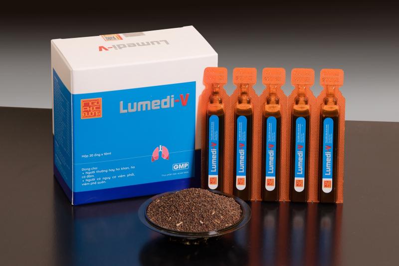 Sản phẩm Lumedi-V ứng dụng 4 bài thuốc cổ phương, có Tô Tử làm chủ dược - được lịch sử y học dân tộc ghi nhận và kiểm chứng, hỗ trợ cải thiện các vấn đề về hô hấp
