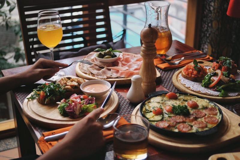 Khám phá văn hóa Ý từ những món ăn.