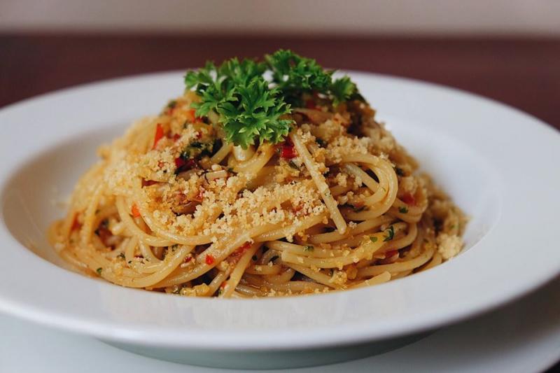 Món ăn đậm chất Ý.