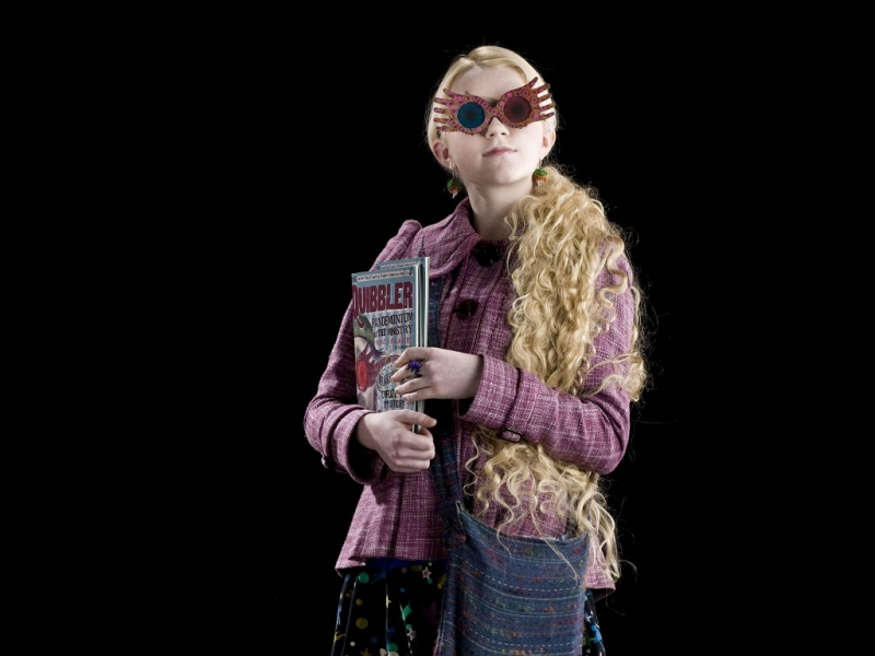 Luna Lovegood - một Ravenclaw cá tính, khác biệt