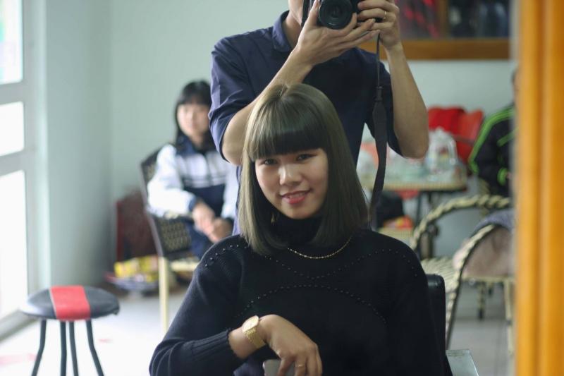 Phương châm hoạt động của salon - ''Tóc đẹp cho quý khách là thành công của Salon''