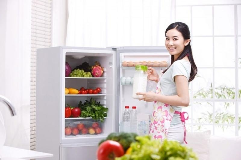 Luôn kiểm tra tủ lạnh trước khi đi mua đồ