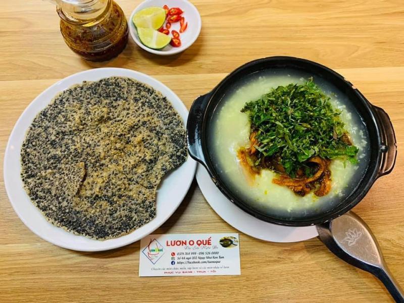Món súp lươn đặc trưng Nghệ An của Lươn O Quế